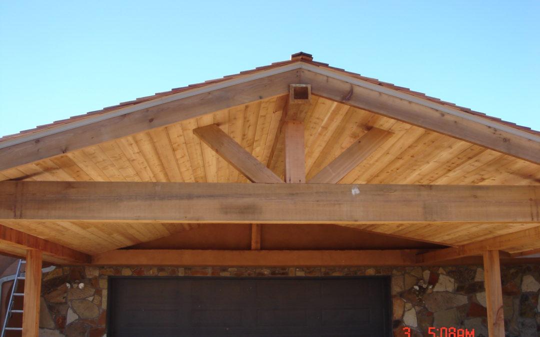 Cedar Carports, Patio Covers and Pergolas